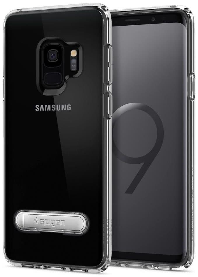 SPIGEN - Samsung Galaxy S9 Case Ultra Hybrid S Crystal Clear (592CS22841)
