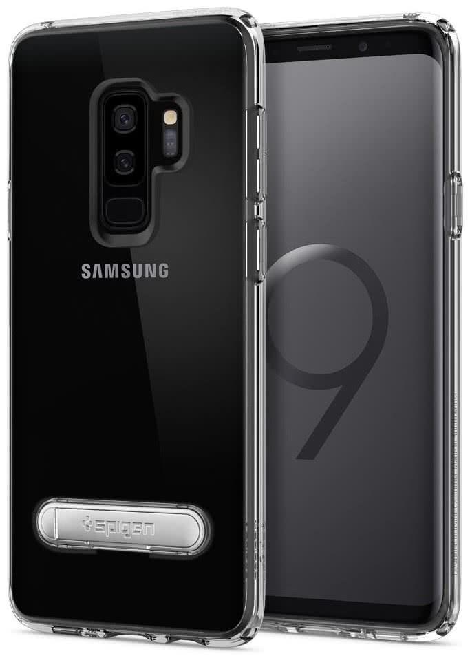 SPIGEN - Samsung Galaxy S9 Plus Case Ultra Hybrid S - Crystal Clear (593CS22928)