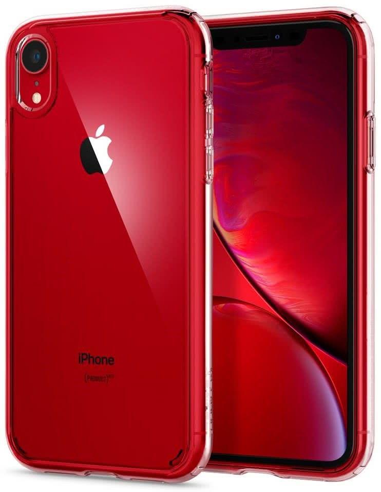 SPIGEN - iPhone XR Case Ultra Hybrid, Crystal Clear (064CS24873)