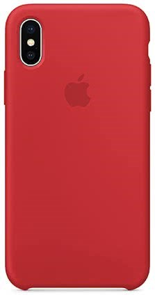 Apple iPhone X Silicone Case - Red (MQT52ZM/A)
