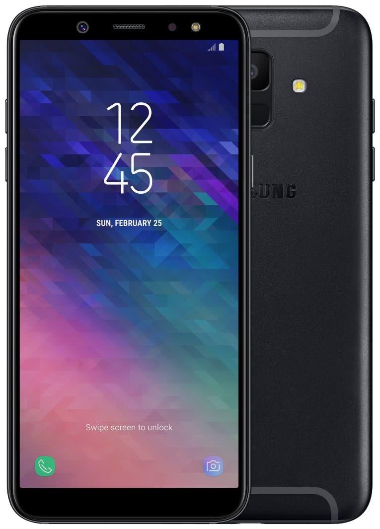 Samsung Galaxy A6 2018, Single SIM, Black (SM-A600FN)