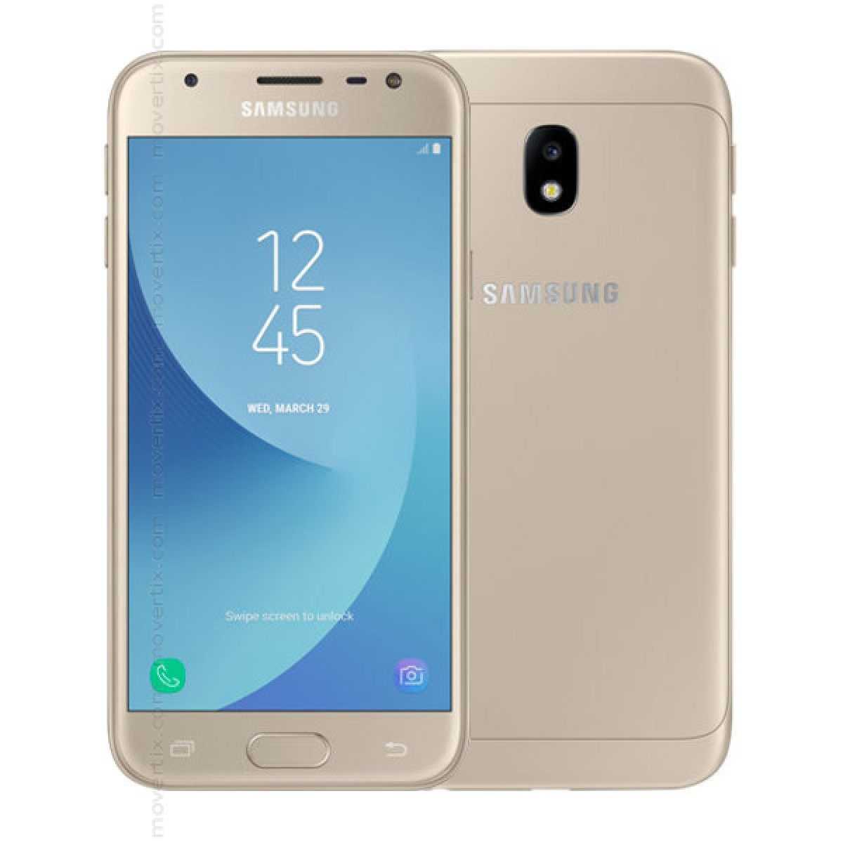 Samsung Galaxy J3 2017 Single SIM Gold