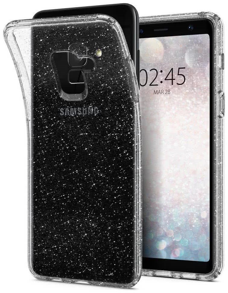 SPIGEN - Samsung Galaxy A8 (2018) Liquid Crystal Glitter Quartz (590CS22749)