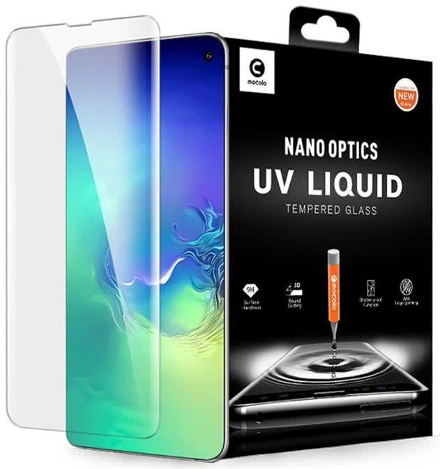 Mocolo - Samsung Galaxy S10 UV Screen Protector, Clear (5906735411317)