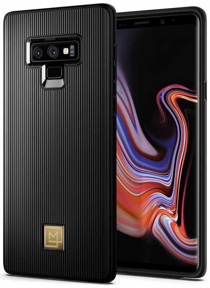 SPIGEN - Samsung Galaxy Note 9 Case Lamanon Calin, Black (599CS24956)