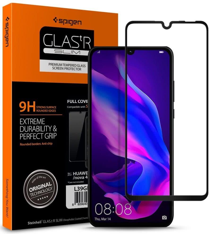 SPIGEN - Huawei P30 Lite Screen Protector GLAS.tR, Black (L39GL26019)