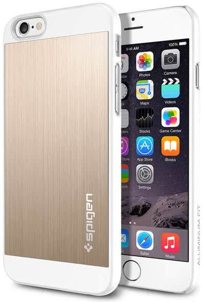 SPIGEN - Iphone 6  - Aluminum Fit / champagne gold (SGP10945)