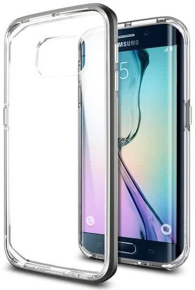 SPIGEN -  Samsung Galaxy S6 edge -  Neo Hybrid CC / gunmetal  (SGP11528)