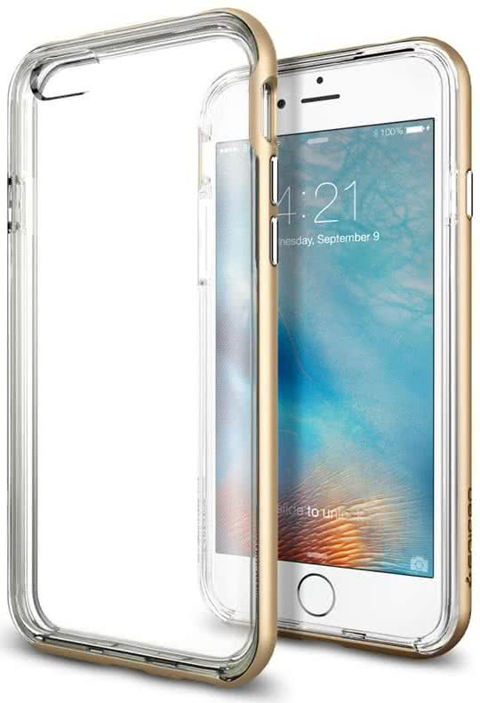 SPIGEN -  IPhone 6/6s -  Neo Hybrid EX / gold (SGP11624)