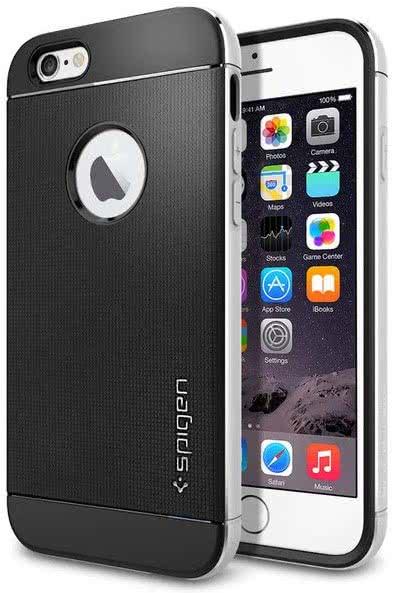 SPIGEN -  IPhone 6/6s -  Neo Hybrid Metal / satin silver (SGP11037)