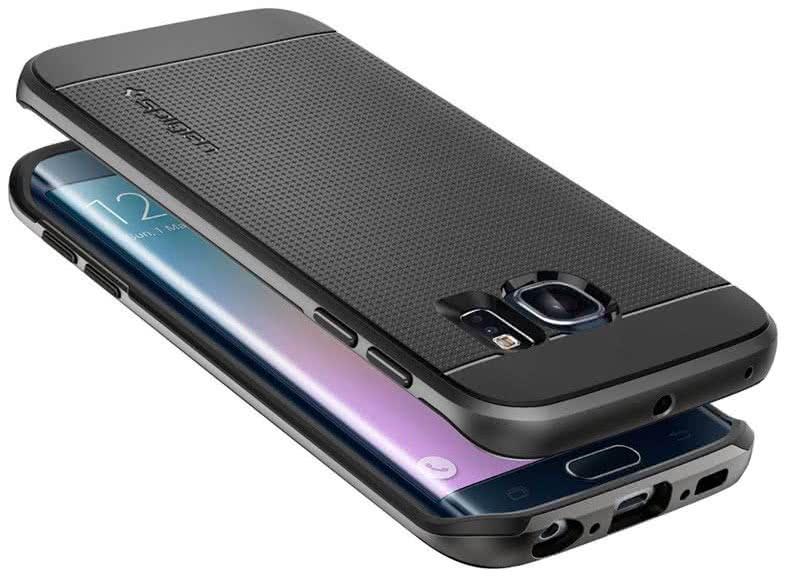 SPIGEN - Samsung Galaxy S 6 Edge - Neo Hybrid Metal / gunmetal (SGP11422)