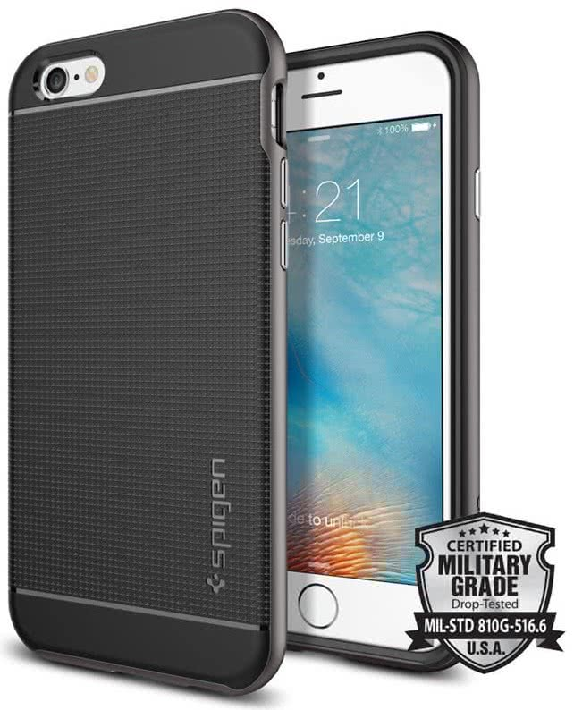 SPIGEN Neo Hybrid Apple iPhone 6 / 6S, gunmetal  (SGP11618)