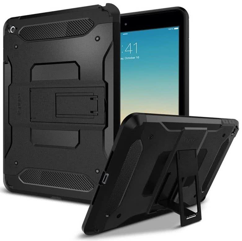 SPIGEN iPad Mini 4 Case Tough Armor Gunmetal (SGP11737)