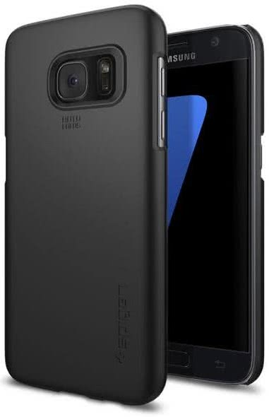 SPIGEN Samsung Galaxy S7 Case Thin Fit Black (555CS20003)