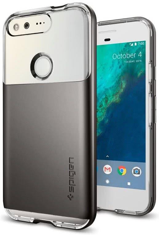 SPIGEN - Neo Hybrid Crystal Google Pixel Case Gunmetal (F14CS20892)