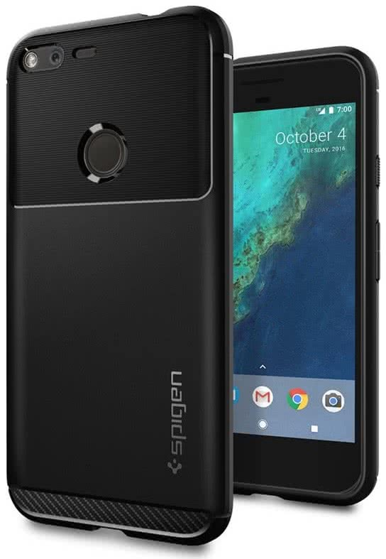 Rugged Armor Google Pixel XL Case Black (F15CS20903)