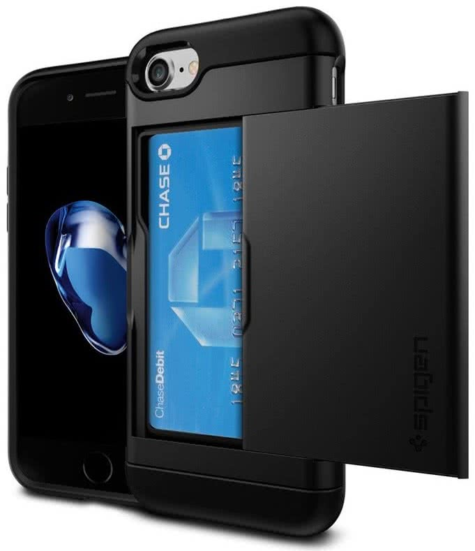 SPIGEN - iPhone 7/8 Case Slim Armor CS Black (042CS20455)