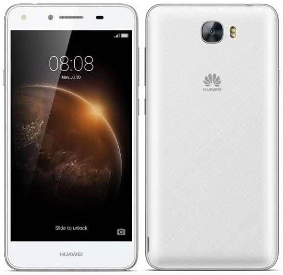 Huawei Y6 II Compact Dual 16 GB, Biely