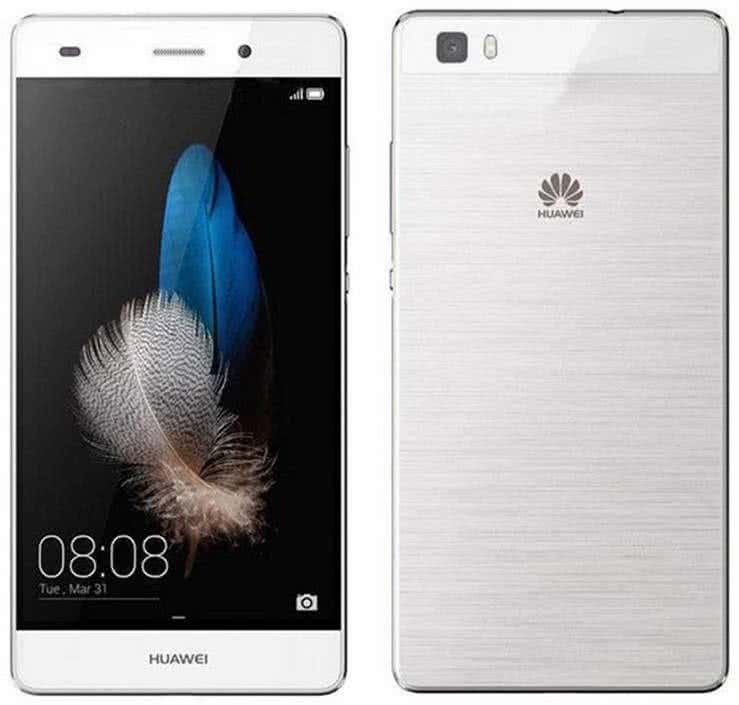 Huawei P8 Lite 16GB Dual Sim, biely
