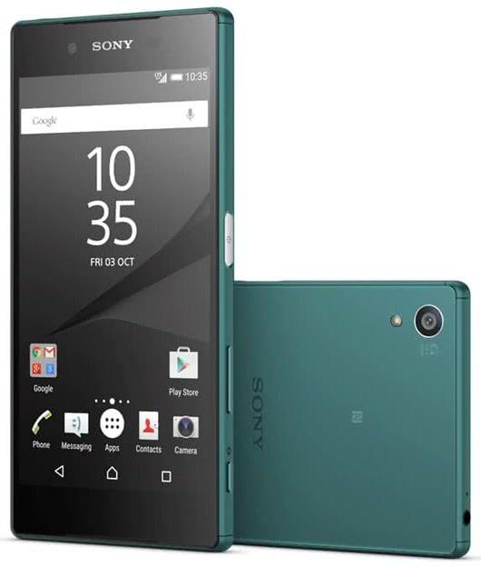 Sony Xperia Z5, green