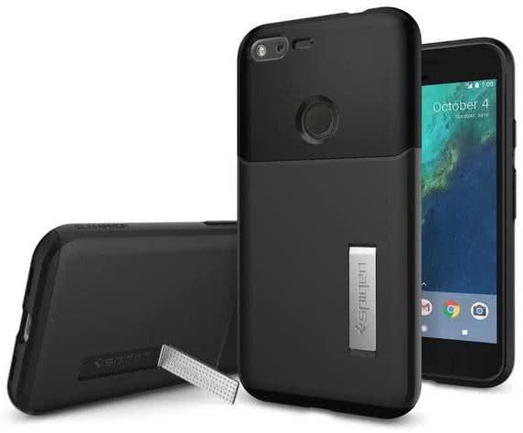 SPIGEN - Google Pixel Case Slim Armor Black (F14CS20899)