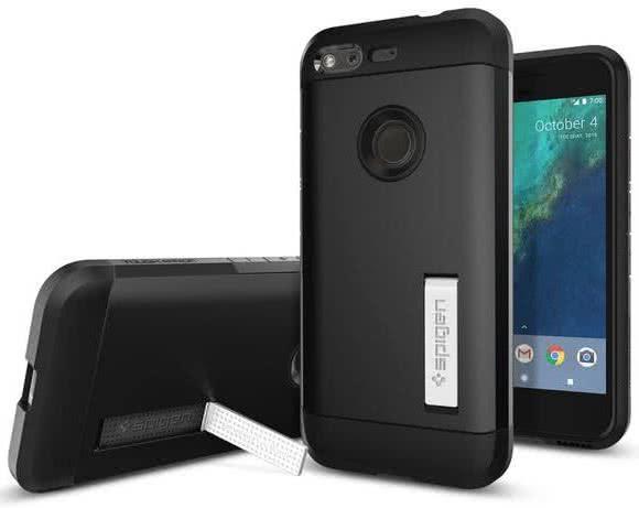 SPIGEN - Google Pixel Case Tough Armor Black (F14CS20897)