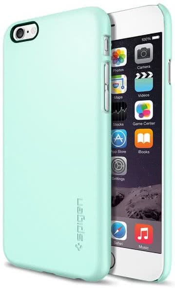 SPIGEN - Thin Fit, iPhone 6/6s, mint (SGP10938)
