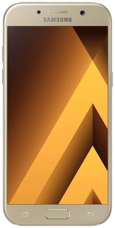 Samsung Galaxy A5 2017, zlatý