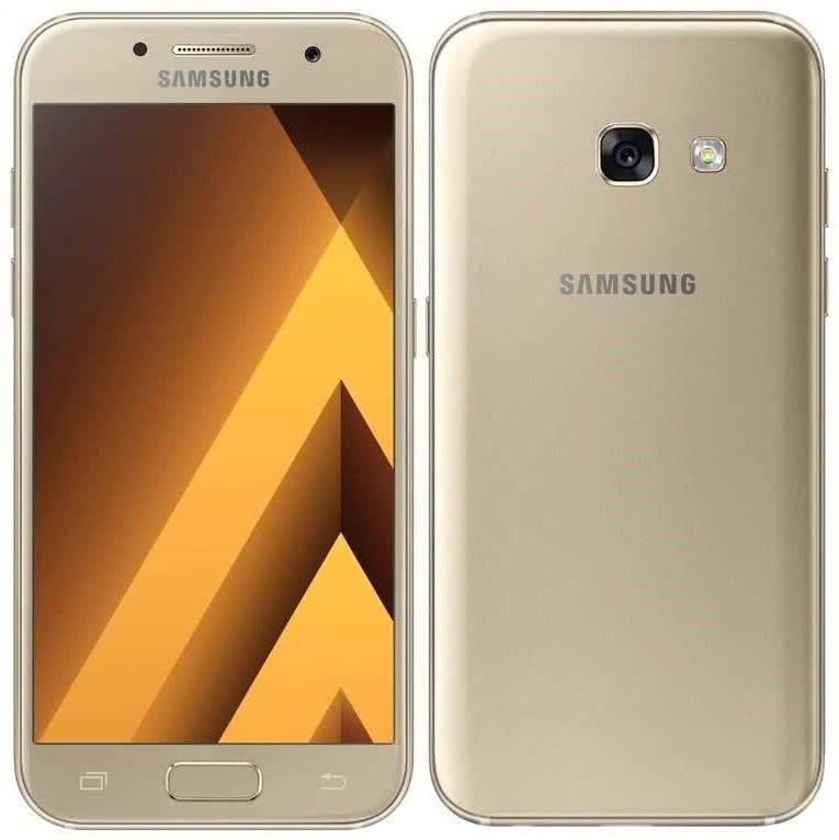 Samsung Galaxy A3 2017, Gold