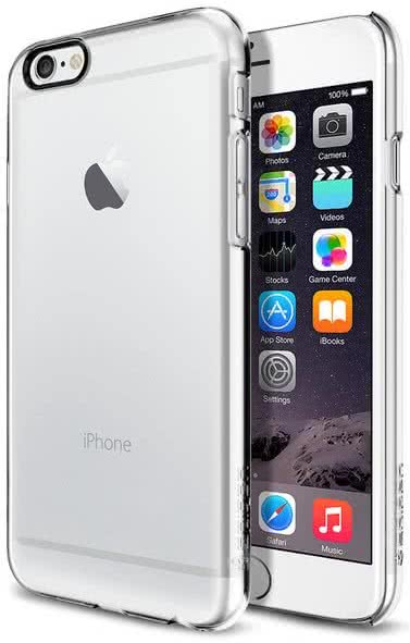 SPIGEN - Thin Fit, iPhone 6/6s, crystal clear (SGP10939)