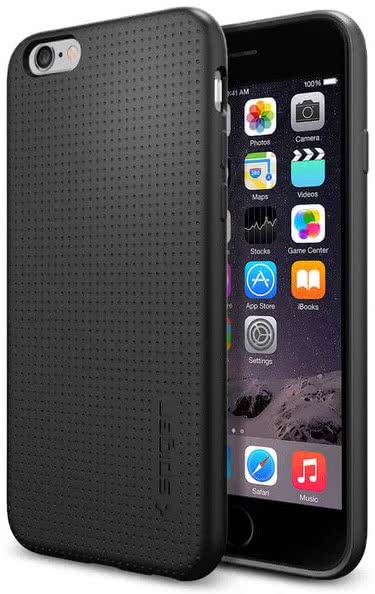 SPIGEN - Case Capsule, iPhone 6/6s, Black (SGP11751)