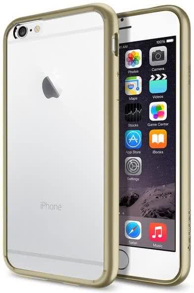 SPIGEN - Ultra Hybrid, iPhone 6/6s, gun metal, matný(SGP10950)