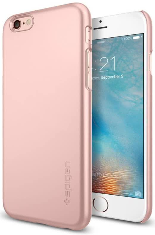 SPIGEN - Thin Fit, iPhone 6/6s, rose pink (SGP11766)