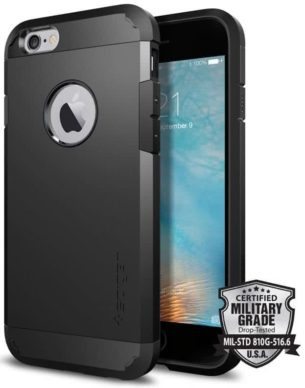 SPIGEN Tough Armor Apple iPhone 6 / 6S, Black  (SGP11614)