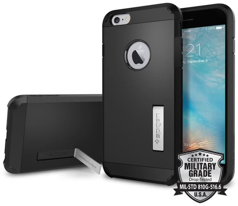 SPIGEN Tough Armor Apple iPhone 6 / 6S plus, Black  (SGP11660)