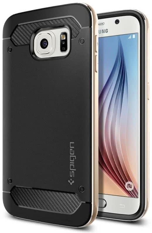 SPIGEN -  Samsung Galaxy S6 -  Neo Hybrid Metal /Champagne Gold (SGP11325)