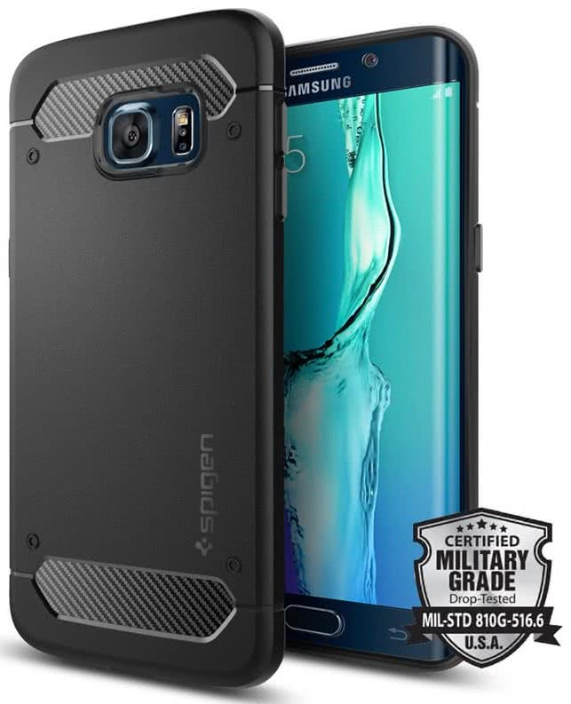 SPIGEN  Ultra Rugged Armor Samsung Galaxy S6 Edge Plus , black (SGP11698)