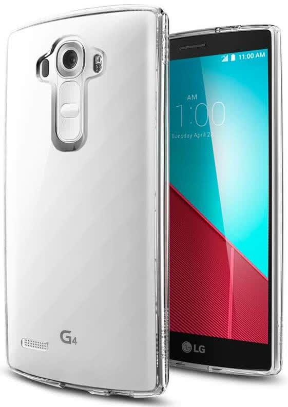 SPIGEN - LG G4 - Slim Armor, Crystal Clear (SGP11517)