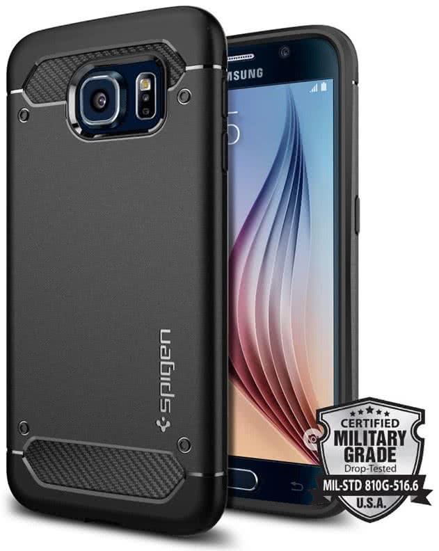 SPIGEN  Ultra Rugged Armor Samsung Galaxy S6 , black (SGP11439)