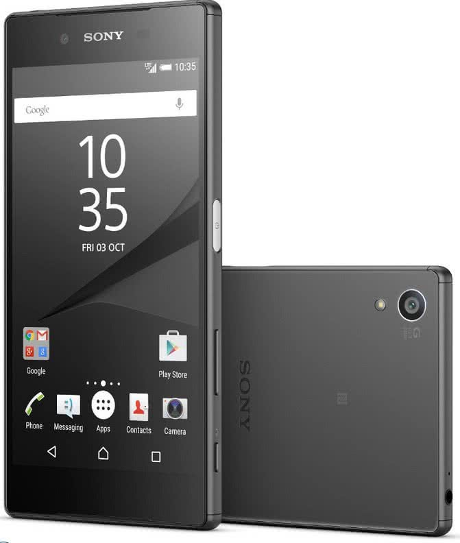 Sony Xperia Z5, čierny