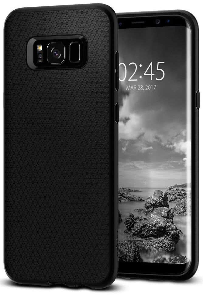 SPIGEN - Samsung Galaxy S8 Liquid Air Armor Black (565CS21611)