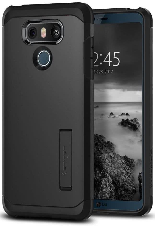 SPIGEN - LG G6 Case Tough Armor Black (A21CS21235)