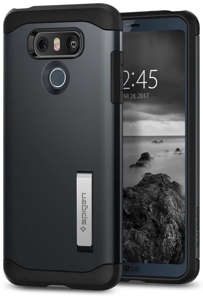 SPIGEN - LG G6 Case Slim Armor Metal Slate (A21CS21238)