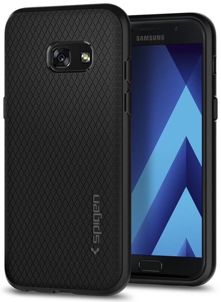SPIGEN - Samsung Galaxy A3 2017 Liquid Air Armor Black (572CS21140)