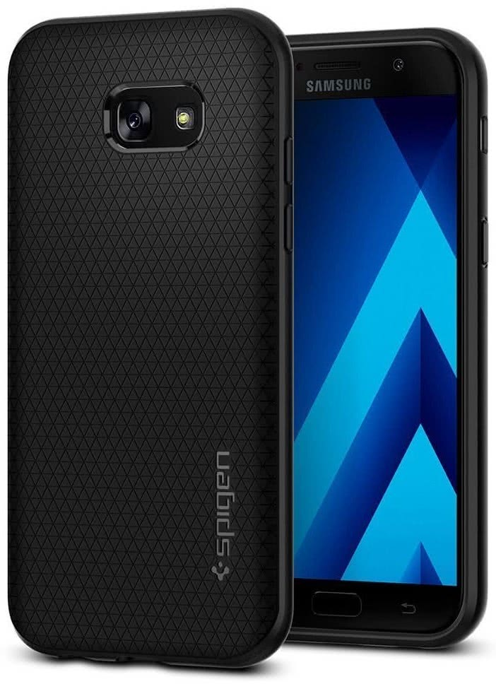 SPIGEN - Samsung Galaxy A5 2017 Liquid Air Armor Black (573CS21143)