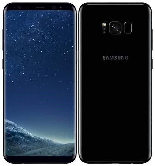 Samsung Galaxy S8+, Midnight Black (SM-G955FZKAETL)