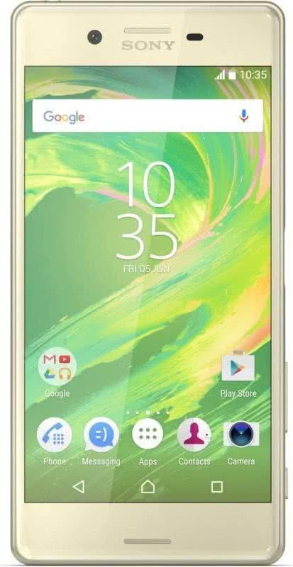 Sony Xperia X, Lime Gold