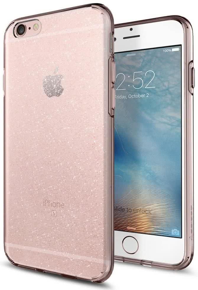 SPIGEN - iPhone 6/6S Case Liquid Crystal Glitter Rose (035CS21416)