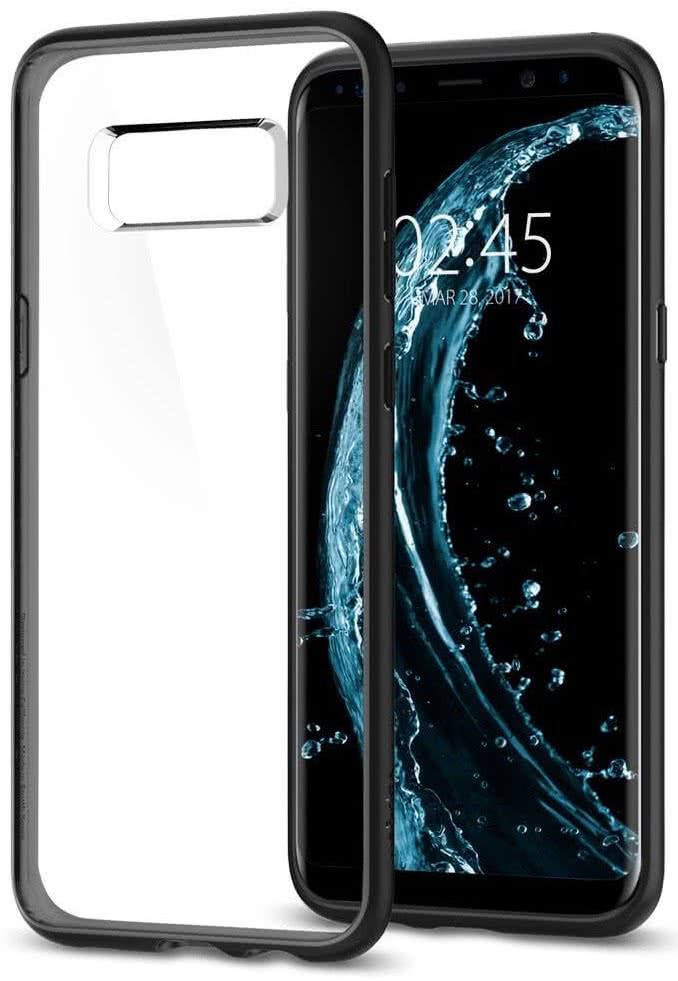 SPIGEN - Samsung Galaxy S8 Plus Case Ultra Hybrid Black (571CS21680)