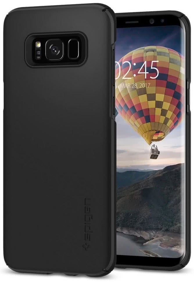 SPIGEN - Samsung Galaxy S8 Plus Case Thin Fit Black (571CS21676)